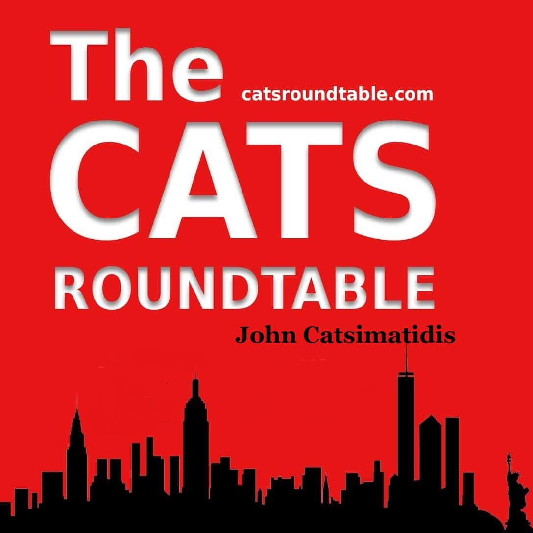 red logo catsroundtable with catsimatidis