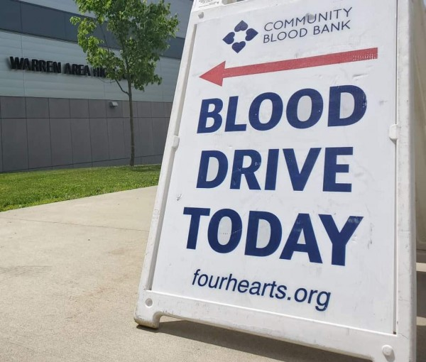 Community Blood Bank in short supply