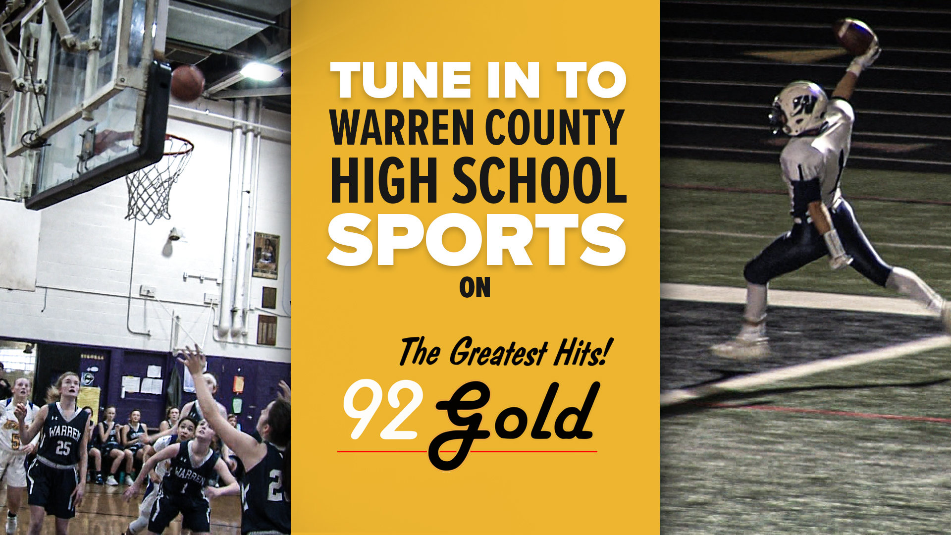 Warren Sports on 92 Gold